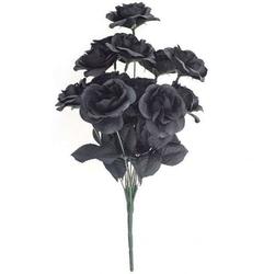 Czarne róże - bukiet 12 sztuk