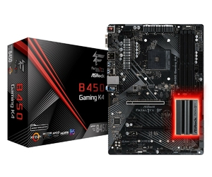 ASRock Płyta główna Fatal1ty B450 Gaming K4 am4 4DDR4 HDMIDP ATX