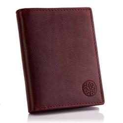 Elegancki portfel betlewski bpm-ot-62 burgundowy