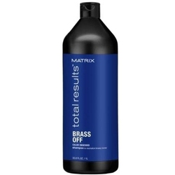 Matrix brass off szampon ochładzający odcienie miedziano-złote 1000ml