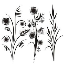 Board z aluminiowym obramowaniem japońskie wzory kwiatowe