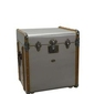 Authentic models :: kuferekstolik stateroom, srebrny