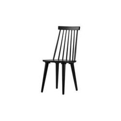 Woood :: zestaw 2 drewnianych krzeseł zemi