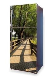 Fototapeta na lodówkę most p101