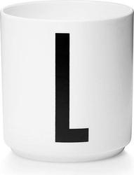 Kubek porcelanowy aj litera l