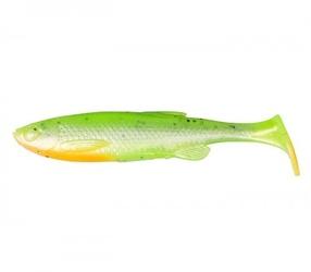 Guma savage gear 3d fat minnow t-tail 13cm 20g green silver fluo