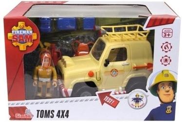 Strażak sam jeep ratunkowy 4x4 z figurką