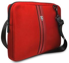 Torba ferrari sleeve urban tablet bag 13 czerwona