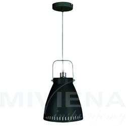 Subway lampa wisząca 1 czarny