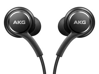 Słuchawki douszne samsung akg by harman eo-ig955-hf 3.5mm s10 czarne - czarny
