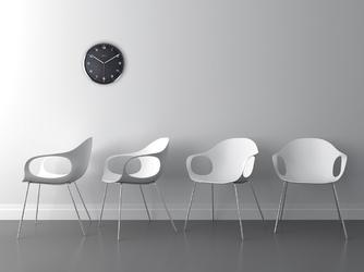 Zegar ścienny company arabic nextime 35 cm, biały 3080 wi