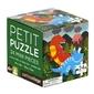 Puzzle mini petit collage  - dinozaur 4+