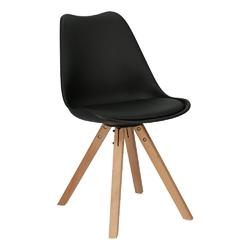 Krzesło norden star square pp czarne1627 - czarny