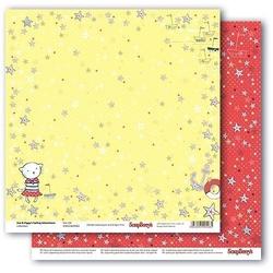 Papier 30x30 cm ZoeZiggy -Star Girl - 04