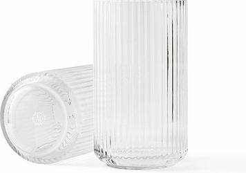 Wazon Lyngby szklany Clear 25 cm