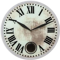 Zegar ścienny z wahadłem romana nextime 43 cm 8162