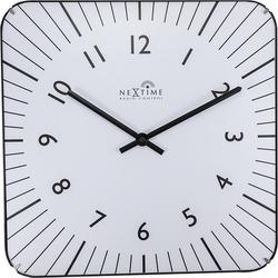 Zegar ścienny alex rc biały
