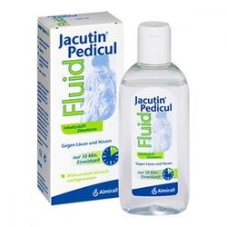 Jacutin pedicul fluid z grzebieniem do gnidwszy
