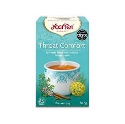 Herbata na podrażnione gardło 17 torebek yogi tea bio