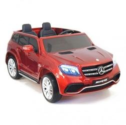 Mercedes gls 63,  4 silniki, 2x12 v, miękkie koła, miękkie siedzenie dla 2 dziecihl228