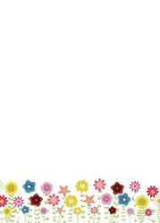 130 kwiatki tablica suchościeralna