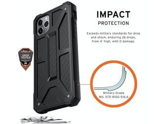 Etui uag urban armor gear monarch iphone 11 pro max black carbon fiber