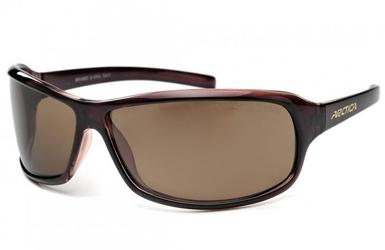 Okulary arctica s-101a brązowe klasyczne z polaryzacją