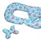 Poduszka ciążowa do karmienia w ciąży flamingi zestaw