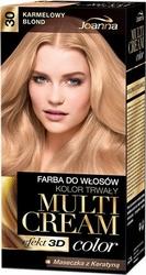Joanna multi cream color, farba do włosów, 30 karmelowy blond