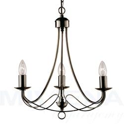 Maypole lampa wisząca 3 patyna