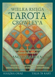 Zestaw wielka księga tarota crowleya + talia crowley tarot