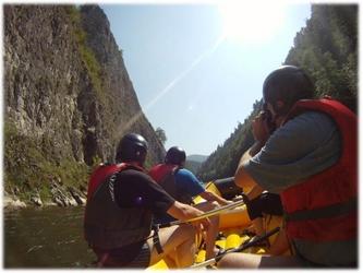 Rafting przełomem dunajca - nowy targ