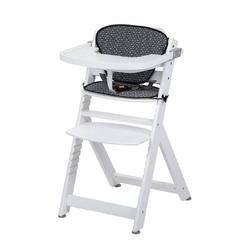 Safety 1st timba white drewniane krzesełko do karmienia z wkładką geometric + puzzle