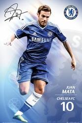 Chelsea Juan Mata 1314 - plakat