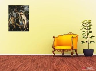 grzech pierworodny - tycjan ; obraz - reprodukcja