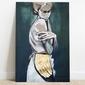 Irina vilim :: obraz kobieta w zieleni