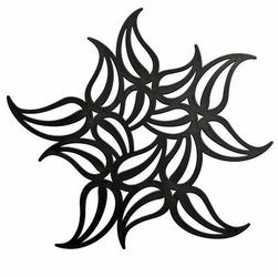 Podstawka pod gorące naczynia Flame czarna