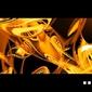 Golden abstract - fototapeta