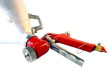 Pistolet do tynkowania i malowania 5l pneumatyczny metal geko