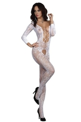 Livia corsetti bodystocking zita white