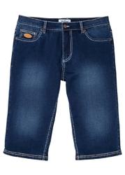 """Długie bermudy dżinsowe ze stretchem regular fit bonprix niebieski stone"""""""