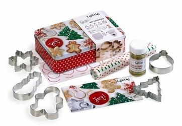 Zestaw świąteczny do pieczenia pierniczków i ciasteczek Lekue
