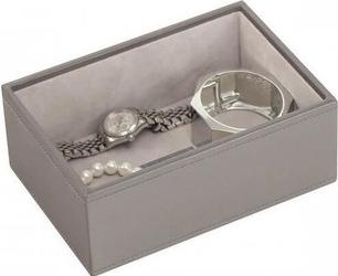 Szkatułka na biżuterię stackers open mini szaro-beżowa