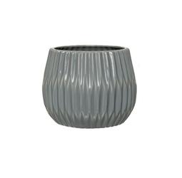 Doniczka ceramiczna szara bloomingville