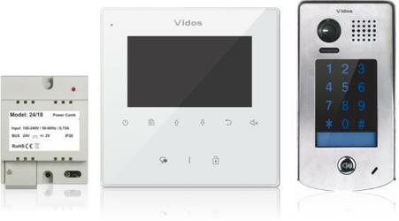 Wideodomofon VIDOS DUO M1022W  S1301D - Szybka dostawa lub możliwość odbioru w 39 miastach
