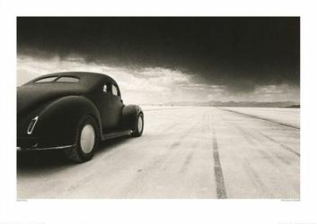 Stary samochód, 40 Coupe At Takeoff - reprodukcja