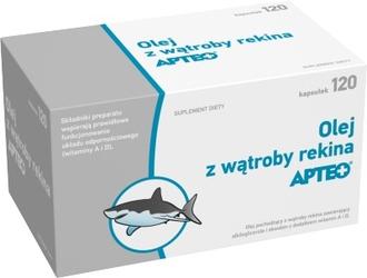 Olej z wątroby rekina apteo x 120 kapsułek