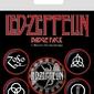 Led zeppelin symbols - przypinki