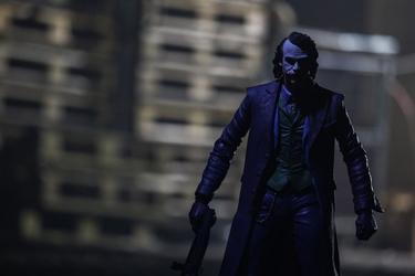 Batman - joker ver3 - plakat wymiar do wyboru: 84,1x59,4 cm
