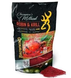 Zanęta browning champions method robin  krill 1kg